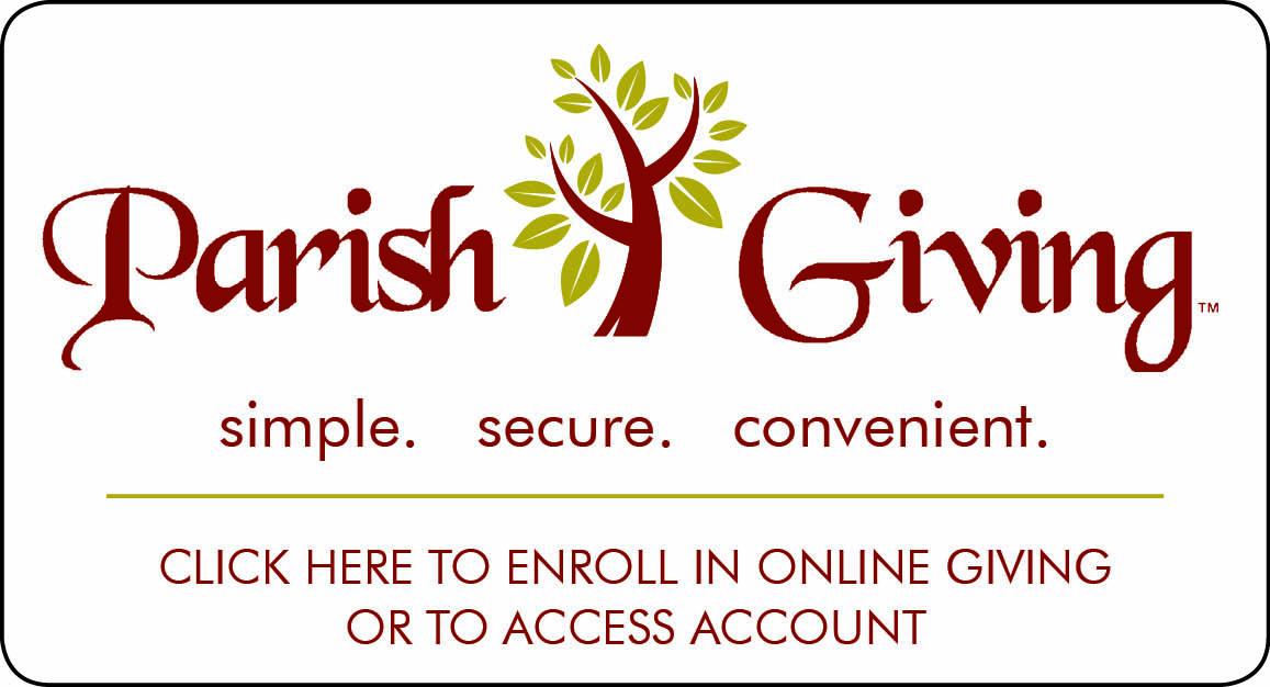 Parish GIving: Simple. Secure. Convenient,